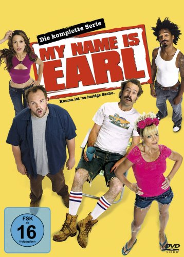 My Name Is Earl - Die komplette Serie [16 DVDs]