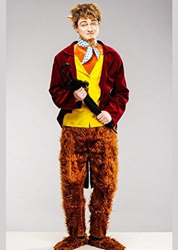 Magic Box Int. Herr Tumnus Narnia Style Faun Kostüm Large (42-44