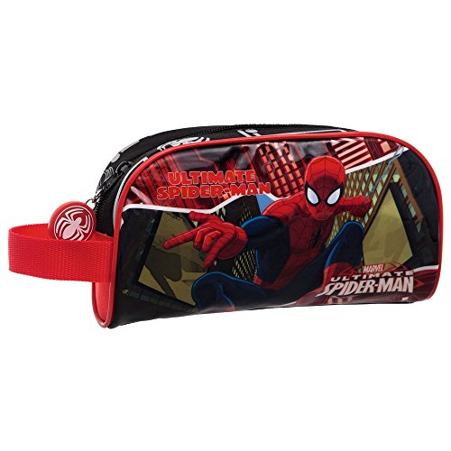 Spiderman-4454151 Disney Portatodo Neceser, Color Rojo, 21 cm (Joumma 44541)