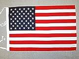 AZ FLAG Bandera de los Estados Unidos 45x30cm - BANDERINA Americana - USA -...