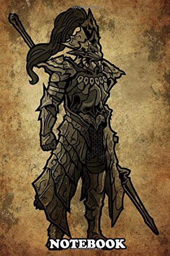 Notebook: Dragonslayer Ornstein From Dark Souls Rustic Design , Journal for Writing, College Ruled Size 6