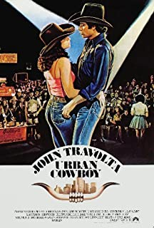 Urban Cowboy Movie Poster 2ftx3ft