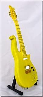 PRINCE Miniature Mini Guitar CLOUD Yellow/Peach