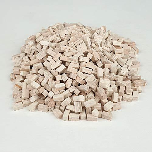 Piedra en miniatura. Piedra de sección cuadrada 6 Mm. (1.000u.)
