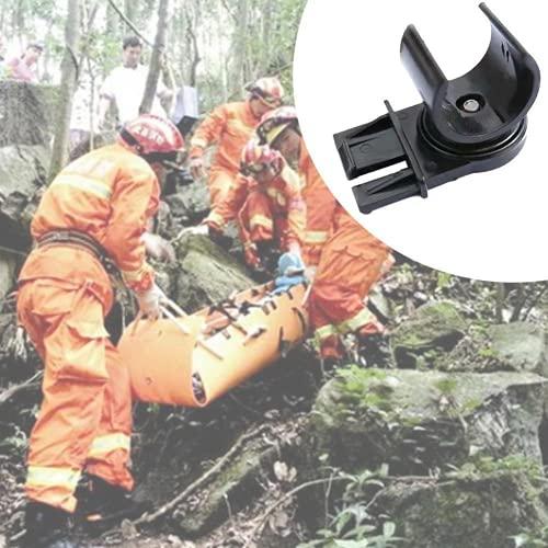 U-K Support de lampe de poche pour casque - Avec clip - Pour lampe de poche - Accessoire d'extérieur - Design sympa