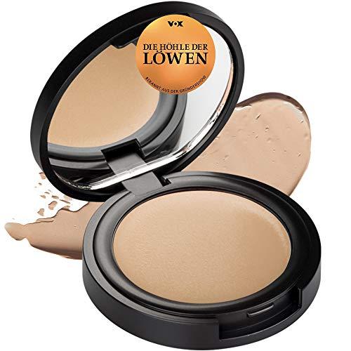 NUI Cosmetics Natural Cream Concealer ARI - Naturkosmetik vegan natürlich glutenfrei - Abdeckcreme für helle bis mittlere Hauttöne mit neutralen Untertönen für einen makellosen ebenmäßigen Teint