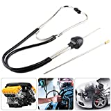 Set di stetoscopi del motore, strumento per l'udito dello strumento diagnostico del motore dell'auto dello stetoscopio del cilindro della meccanica dell'acciaio inossidabile automatico