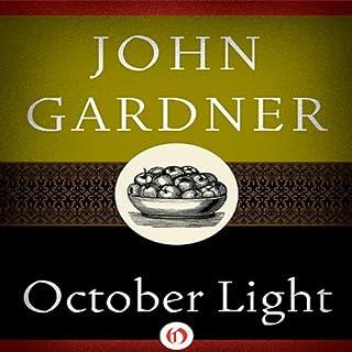 October Light audiobook cover art