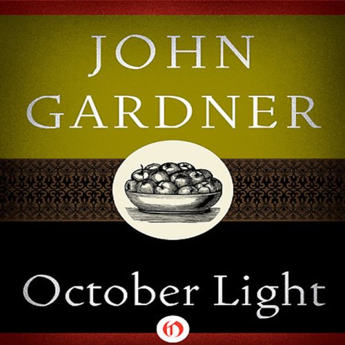 October Light audiobook cover art