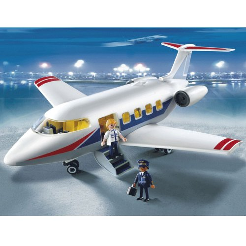 Playmobil PLAYM5954 - Passagierflugzeug, Mehrfarbig