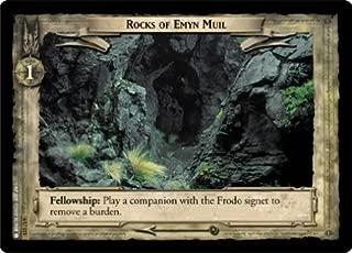 LOTR TCG EOF ENTS FOIL ROCKS OF EMYN MUIL 6U115