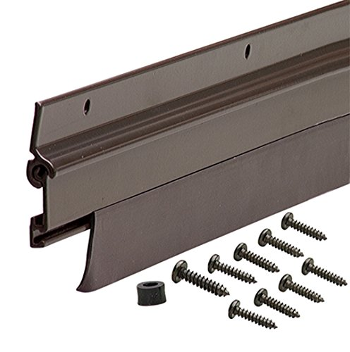 M-D Building Products 7153 Flexomatic Automatic Door Sweep, 1-3/4 in W X 36 in L, quot, Black