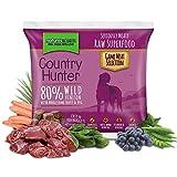 COUNTRY HUNTER Artículos de alimentos crudos congelados ciervos 1Kg Barf perro mascota