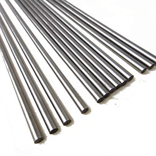 Stahlschaft Metallstangen DIY Achse für Baumodellmaterial, GYJZ713, 8MM