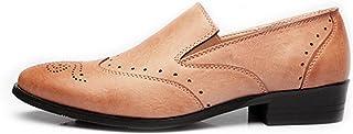 [LWS] ビジネス レザーシューズ メンズ 透かし彫り 革靴 営業マン 防滑 軽量 通勤