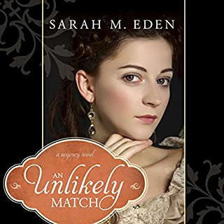 An Unlikely Match audiobook cover art