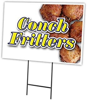 SignMission Conch FRITTERS 18