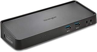 Kensington SD3650 5Gbps USB 3.0 Dual 2K Docking Station, DisplayPort and HDMI, Windows