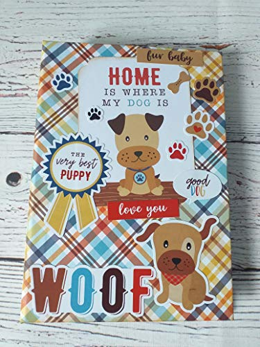 Porta-documentos para mascotas hecho a mano, carpeta cartilla veterinaria, perro