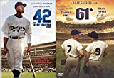 Player Classic Baseball Bio Yankees61 + 42 The Jackie Robinson Story Dodgers Movie 2 Pack