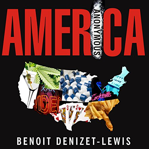 America Anonymous audiobook cover art