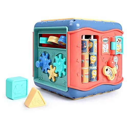 Babyspielzeug Entdeckerwürfel Motorikwürfel Activity Cube Baby Aktivität Würfel Spielzeug Formen Sortierer Spielzeug Für Baby Kleinkind