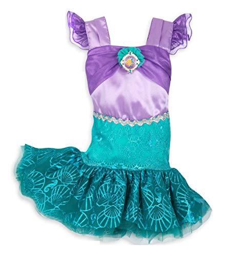 DS Disney Store - Disfraz de Ariel de la Sirenita Princesa Niña Niña Baby Carnaval 6-12 meses