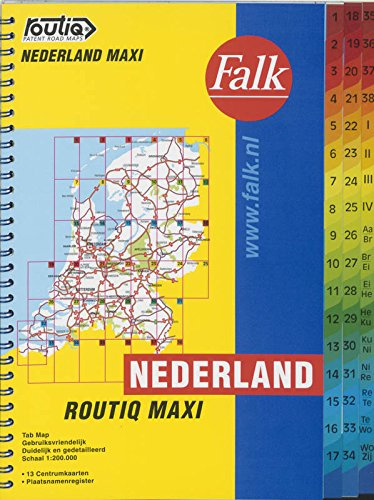 Routiq Nederland Maxi Tab Map