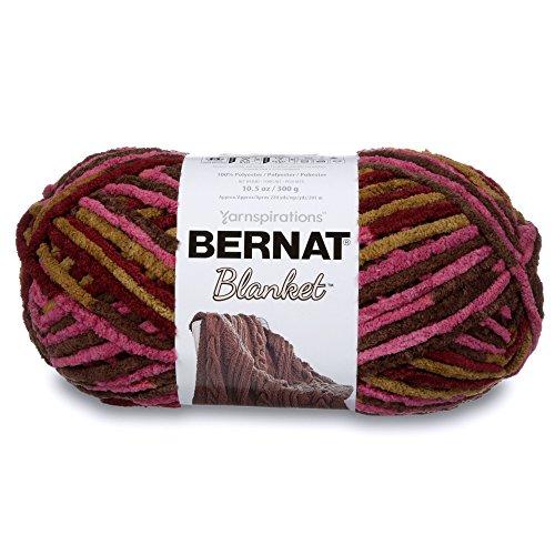 Bernat Blanket Yarn, Plum Chutney