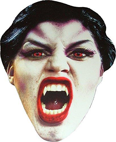 Halloween - Vampire - Effrayant - Masque de Visage Fait en Carte Rigide