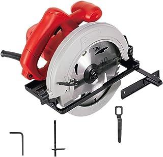 XDXDO Professionell cirkelsåg, 1 150 W 5 600 RPM, skärdjup 65 m, skärvinkel: 45 º, 1 sågblad och guide, för skärning av tr...
