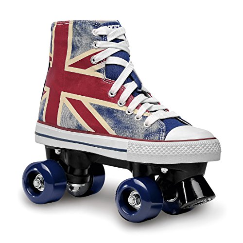 Roces Chuck Quad Skate, niños unisex, azul/rojo/blanco, 36