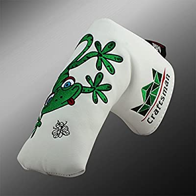Craftsman Golfschlägerhaube grünem Gecko