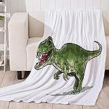 3D Dinosaurier weißeDecke Cartoon Decke für Bett BeachTowel für Erwachsene Decke wirft Bettlaken Travelbenutzerdefinierte Dropshipping