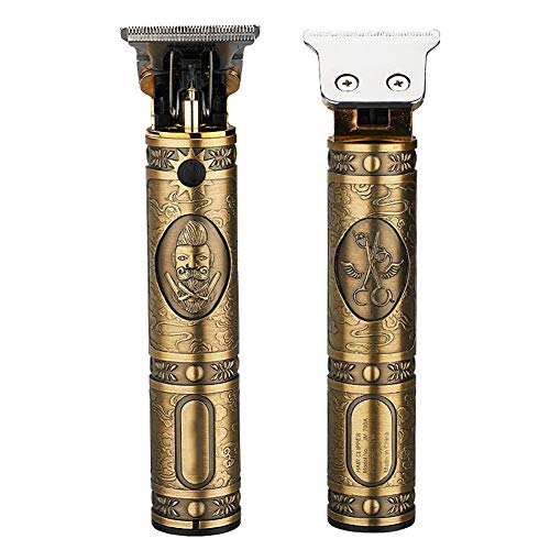 Fantastic Deal! New Buddha Rechargeable Retro Oil Head Clipper Pro Li Outliner Grooming T-Blade Clos...