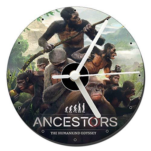 MasTazas Ancestors The Humankind Odyssey Horloge CD Clock 12cm