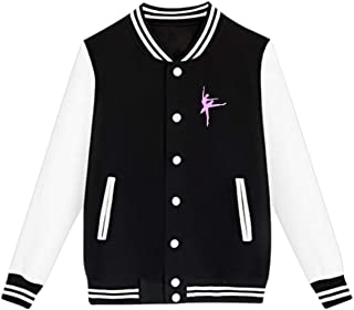 WFIRE Baseball Jacket Ballet Custom Fleece Varsity Uniform Jackets Coats for Youth