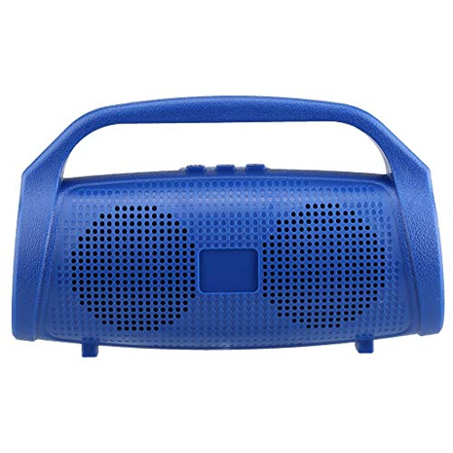 CEyyPD Impermeable al Aire Libre portátil de Soporte de Altavoz Azul orador...