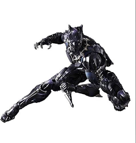 Lfy Figurine Avenger Panther, Figurine 6 Pouces Marvel noir Panther [Panthère Noire]