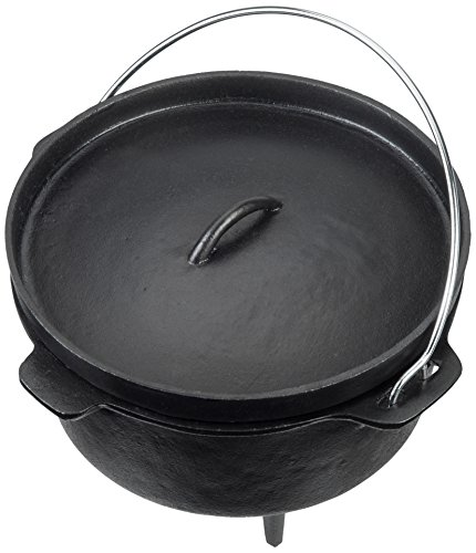 LANDMANN Dutch Oven Four hollandais, Noir, 30 x 29,5 x 28 cm