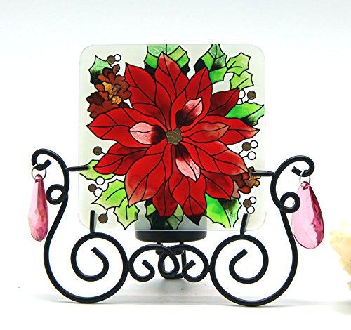 Bougeoir de table peints à la main type de matelas candleware roulettes pour cuisine motif sPa home decor motif \