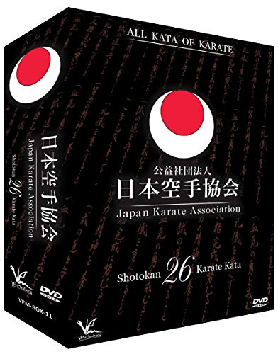 3 DVD Box Collection JKA All 26 Shotokan Karate Kata