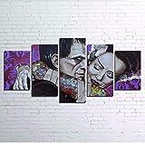 DPFRY Leinwandbild Wandkunst Hd Drucke Wohnkultur Rahmen