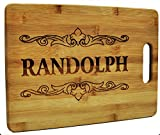 Custom Cutting Board - Wood Engraved Cutting Board - Personalized Bamboo Cutting Board - Small Cutting Board