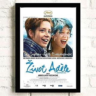 Klassieke Film La Vie D'Adèle Romantiek Liefde Posters Kwaliteit Canvas Schilderij Art Thuis Wall Decor Foto A1058 50×70 C...