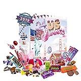 Calendario de Adviento de Chuches Americanas (Edición 2019). 24 dulces americanos: Hershey`s, Reese`s…