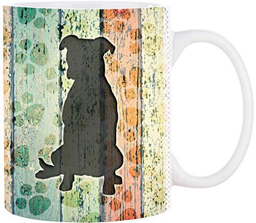 Cadouri Hunde Tasse PITBULL Kaffeetasse Bürotasse - 300 ml