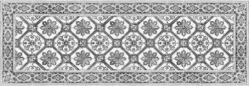 Vilber OPORTO DU 05 78X225 Teppich, Vinyl, Mehrfarbig, 78 x 225 x 0,22 cm