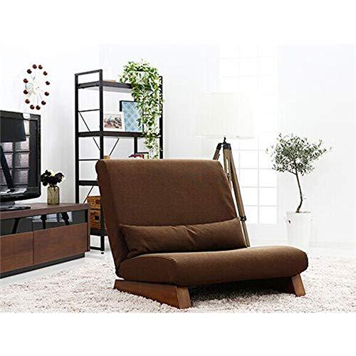 EFVFG Sofá Cama Plegable de un Solo Asiento en el Suelo, Muebles de Sala de Estar de Tela Moderna, sillón reclinable sin Brazos