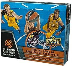 2015-16 Upper Deck Turkish Airlines Euroleague Basketball Hobby Box